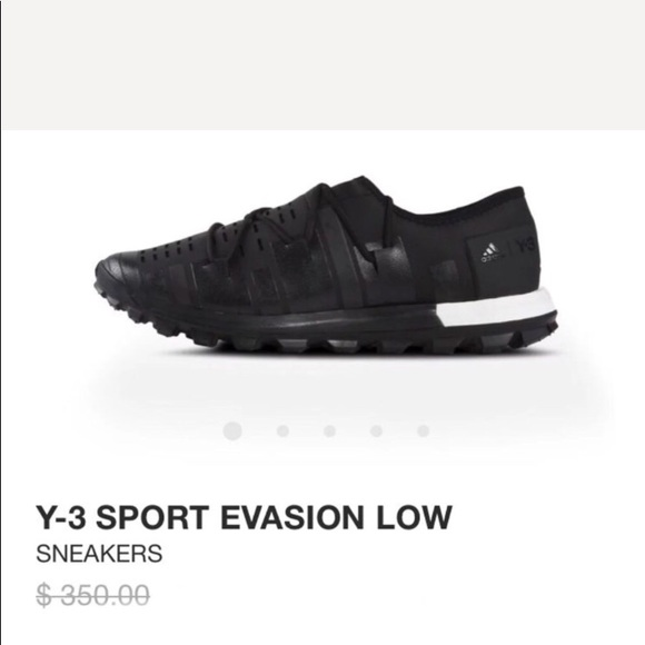 best website a8f5c 4d792 Y-3 S EVASIONS BY ADIDAS  LOW BOOST YOHJI YAMAMOTO